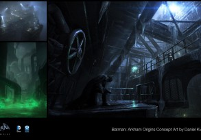 Batman: Arkham Origins Concept Art