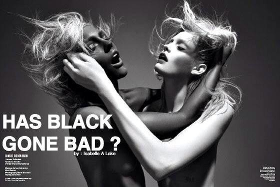 Has black Gone bad?