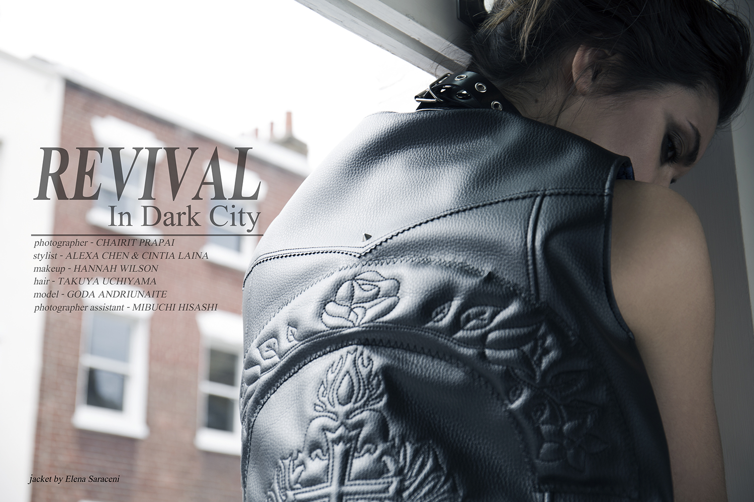 Fashion Editorial: Revival in Dark City