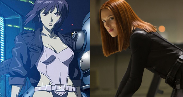 Scarlett Johansson Signs On to Star in DreamWorks' 'Ghost in the Shell'