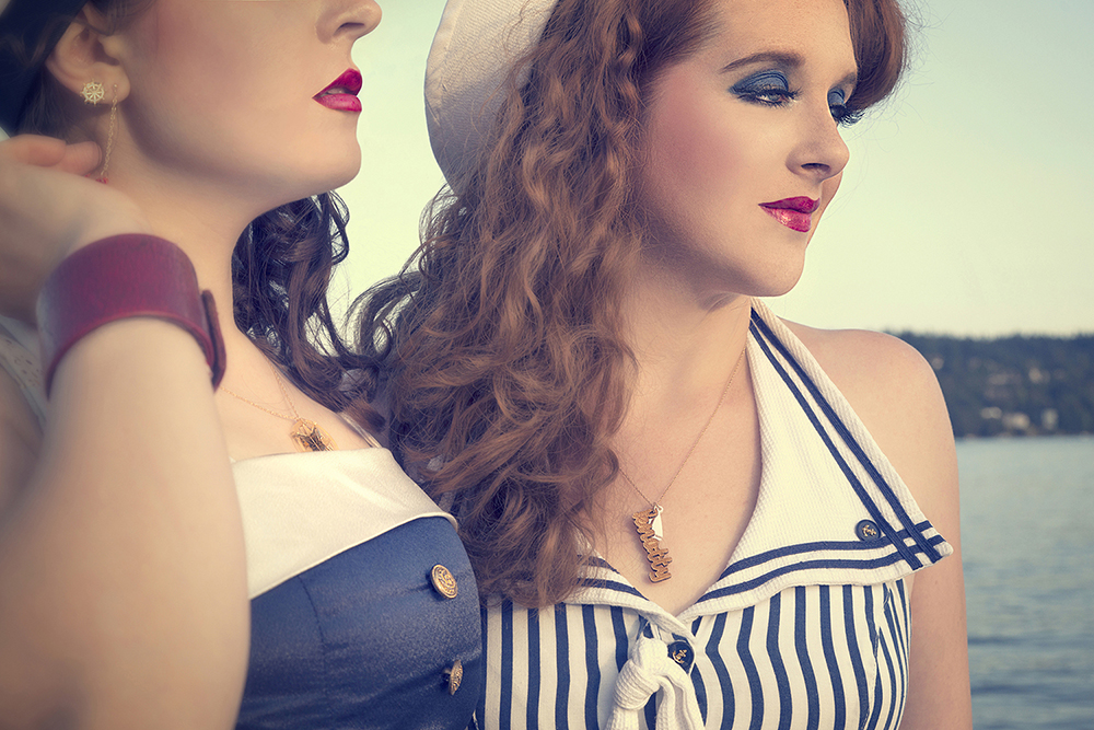 Fashion Editorial: Vintage Dreams of the Sea
