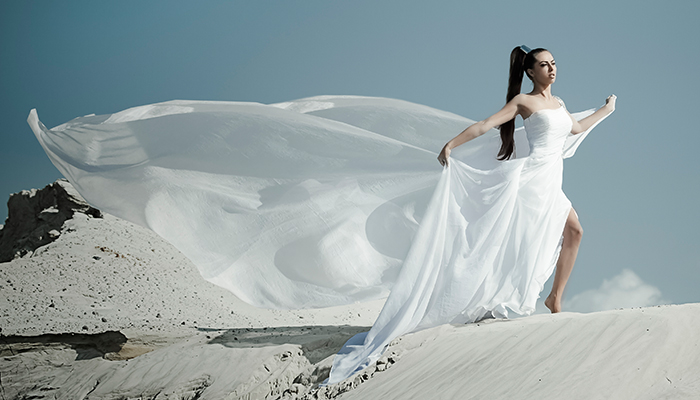 Fashion Editorial: WHITE & SAND