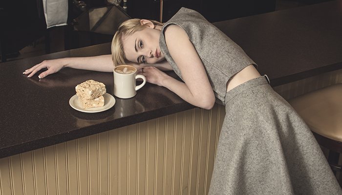 Fashion Editorial: Warming up with Coffee