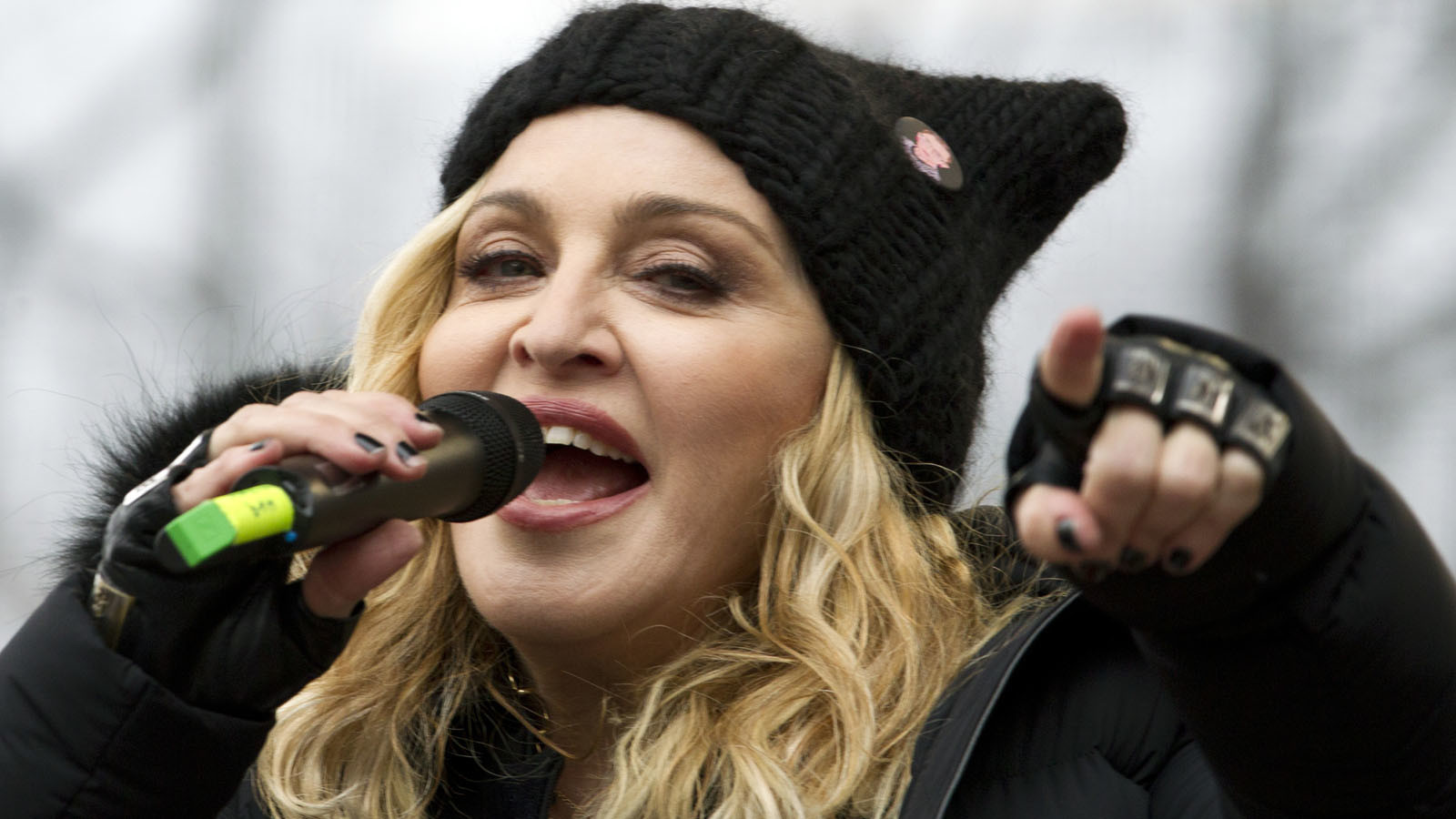 Radio Station Bans Madonna After Speech at Women's March