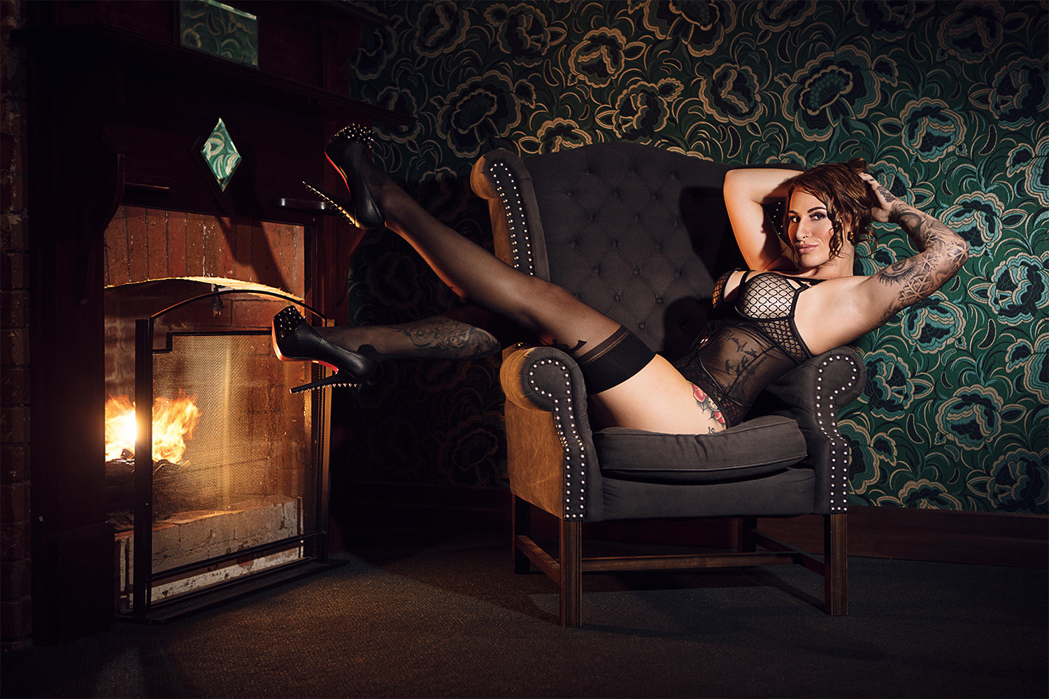 Fashion Editorial – Forbidden Boudoir