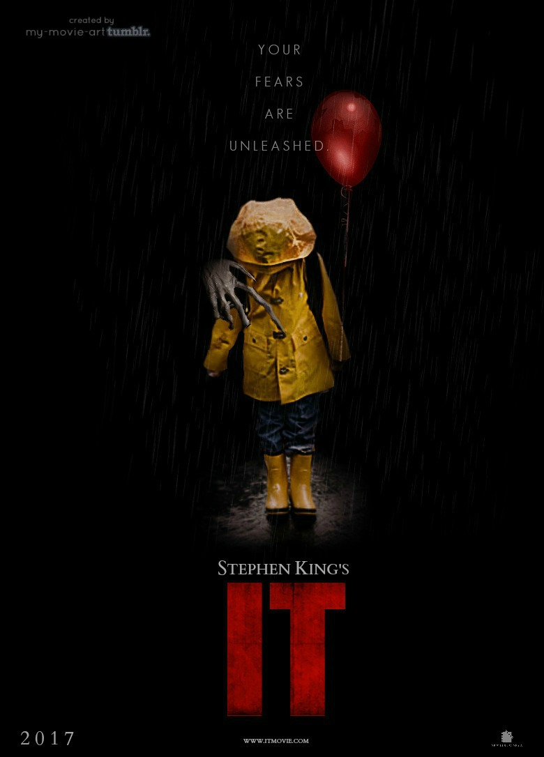 "Stephen Kings ""IT"" 2017 Poster"