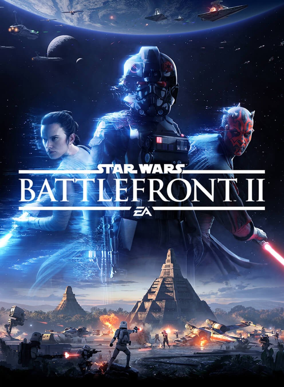 Star War Battlefront II Box Cover