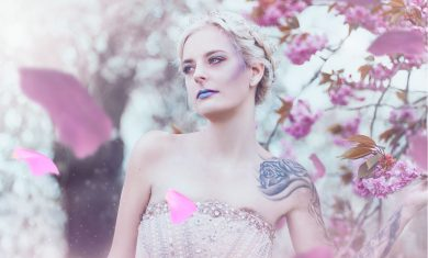 Fashion Editorial – The blossom Princess 5
