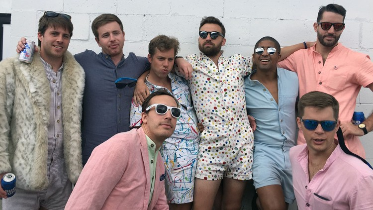 Why everyone is suddenly talking about male rompers