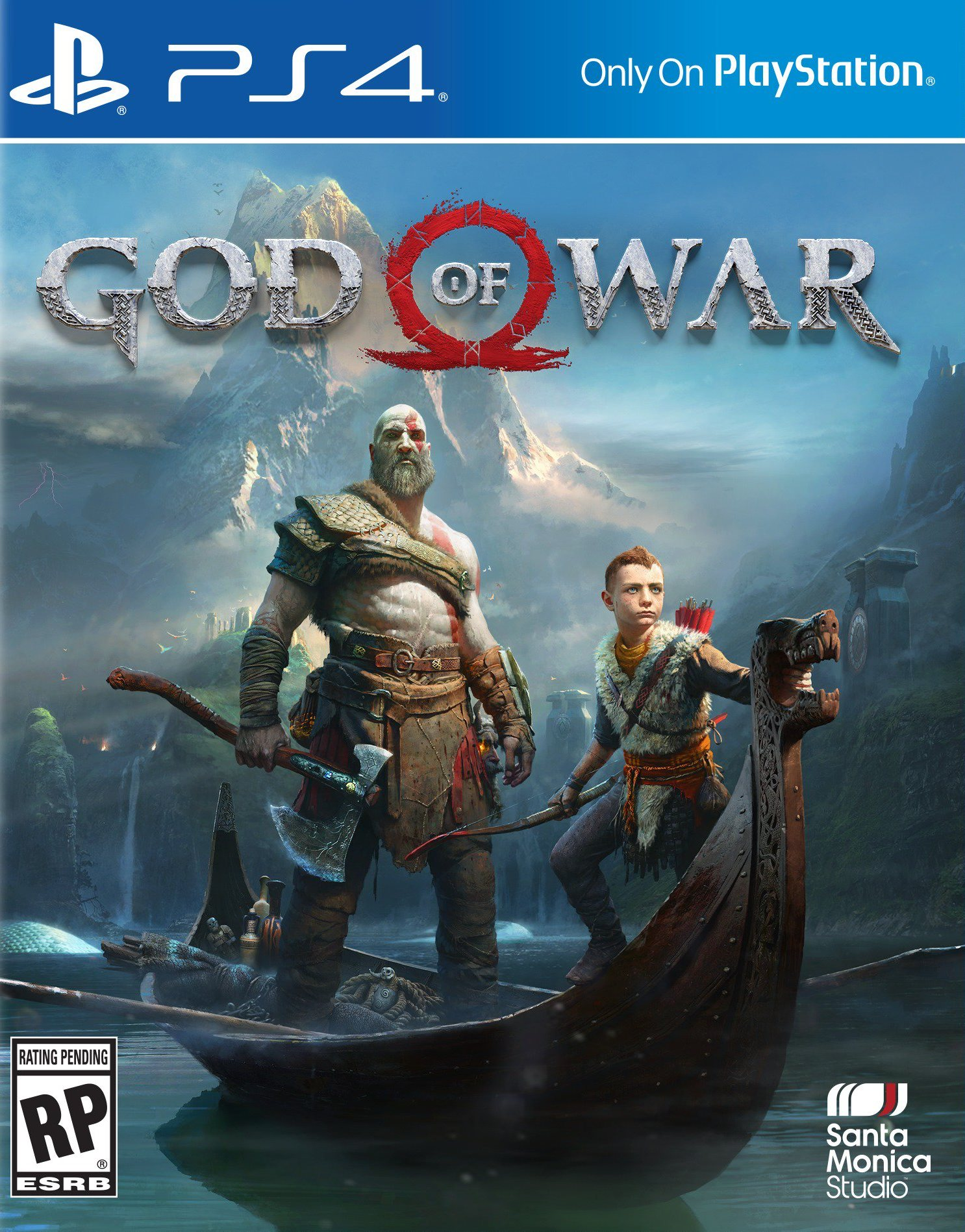 GOD OF WAR | PS4 COVER