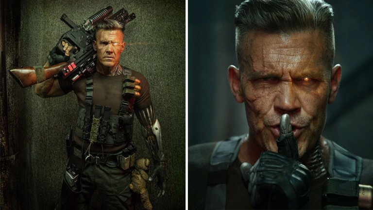 Deadpool 2: First Look at Josh Brolin as Cable
