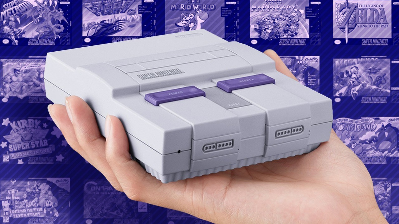 The SNES Classic Edition releases on September 29