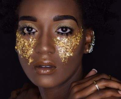 Gold leaf beauty 1