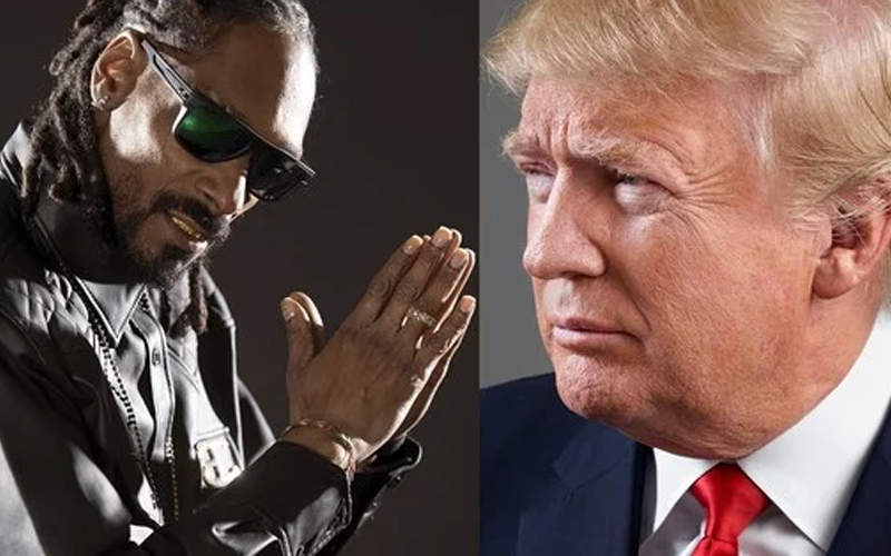 Trump Is Dead on Snoop Dogg's New Album Cover