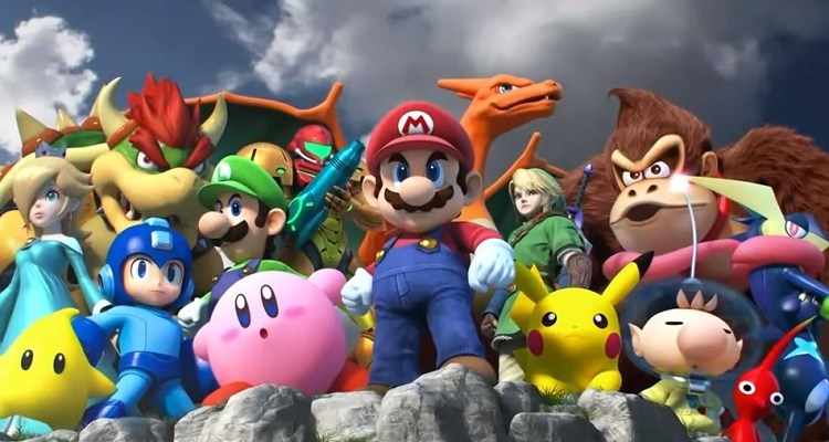 Super Smash Bros Announced On The Nintendo Switch