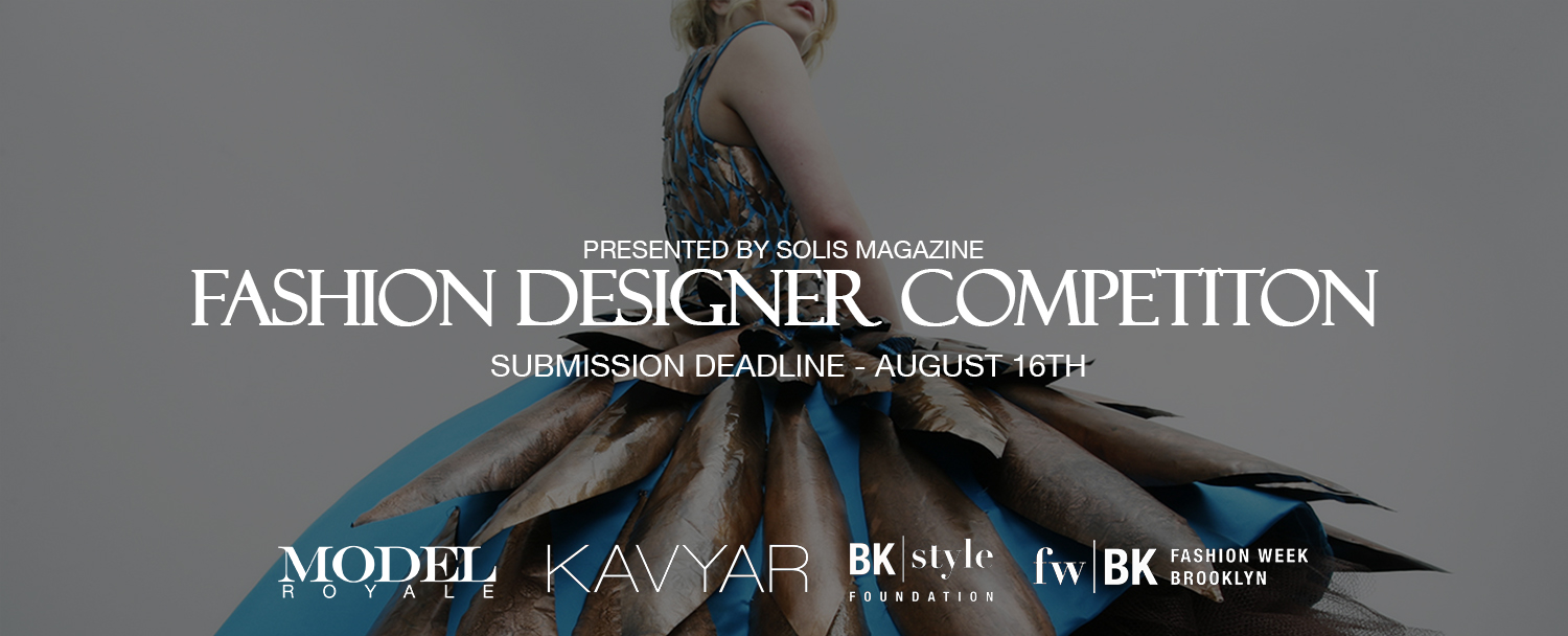 Solis Magazine Fashion Designer Competition 2018