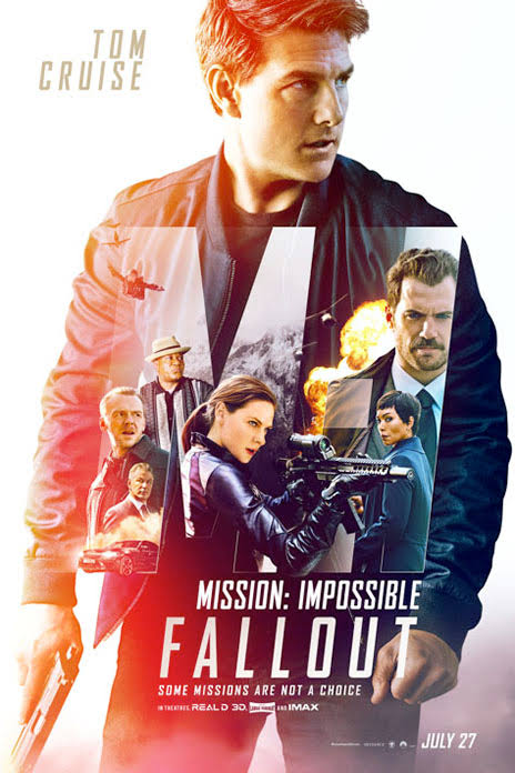 Mission: Impossible - Fallout - Movie Poster