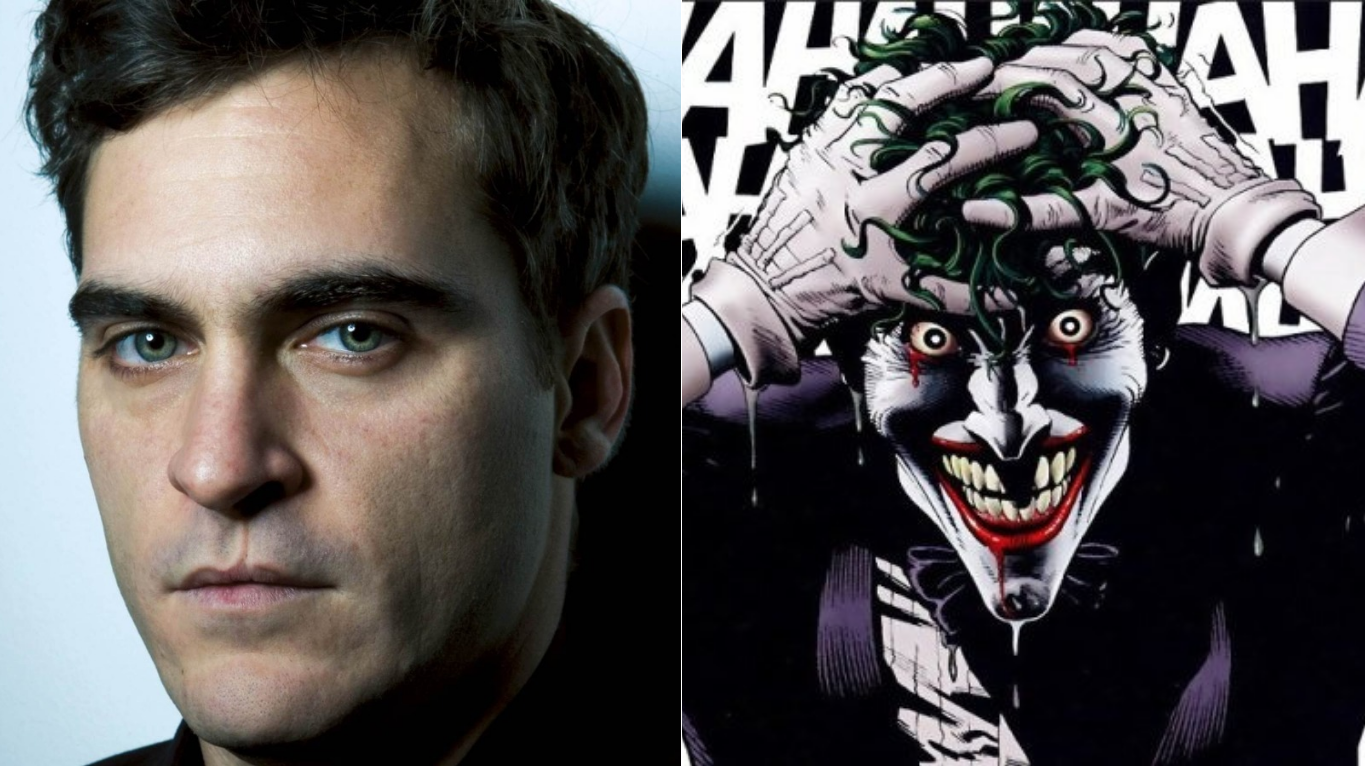 Joaquin Phoenix's to play the Joker in a standalone film