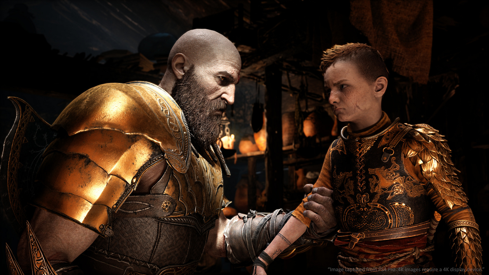 God Of War PS4's New Game Plus Update Out Now