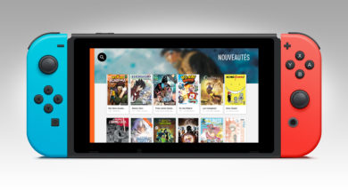 Izneo The Comic Book reading app on Nintendo Switch