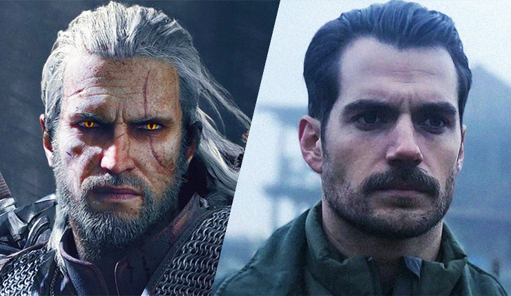 Henry Cavill casted as Geralt for the Netflix Witcher TV Series