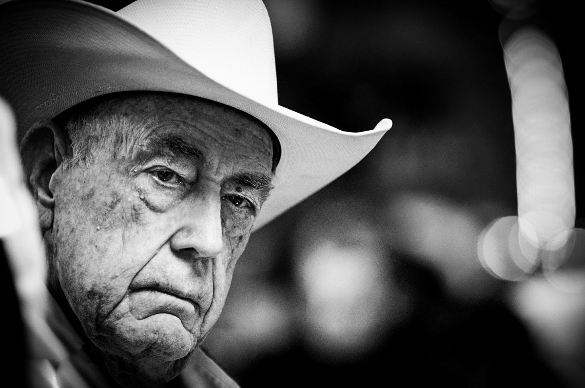 Doyle Brunson at the WSOP 2011.