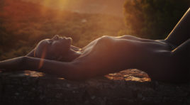 Solis Magazine Nude Showcase – Rays of Light – (series) – The Hidden Cove (selfportraits)