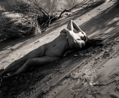 Solis Magazine Nude Showcase – The desert tooks her face