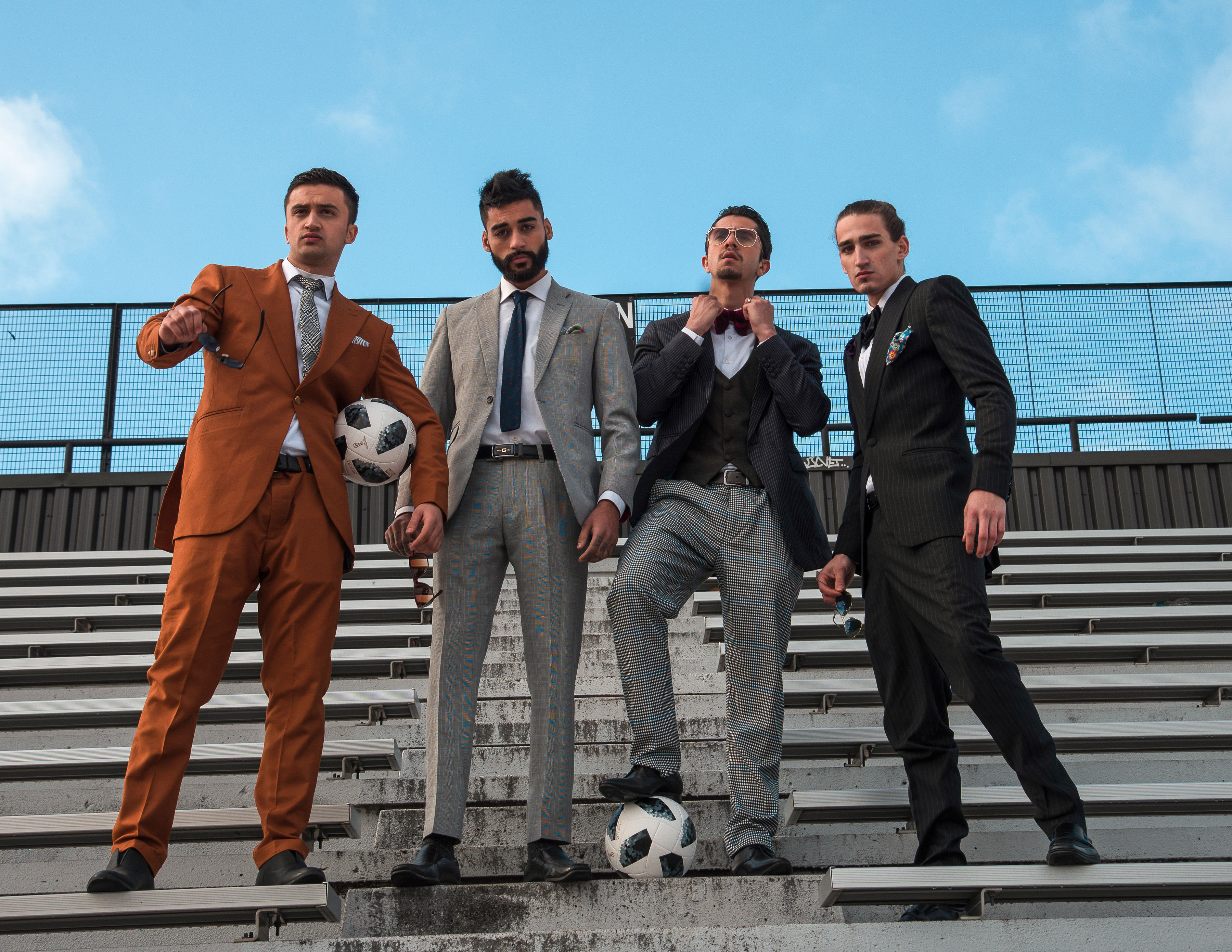 Solis Magazine Men's Editorial – Hate the game not the player