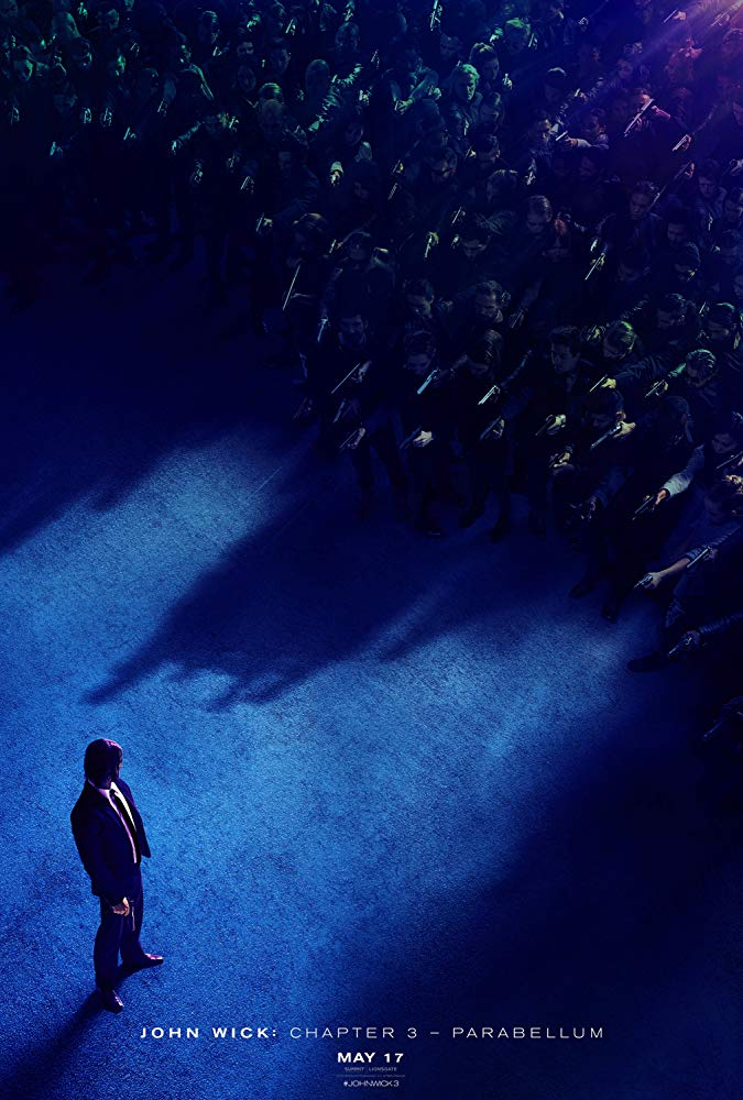 John Wick: Chapter 3 - Parabellum (2019 Movie) Movie Poster