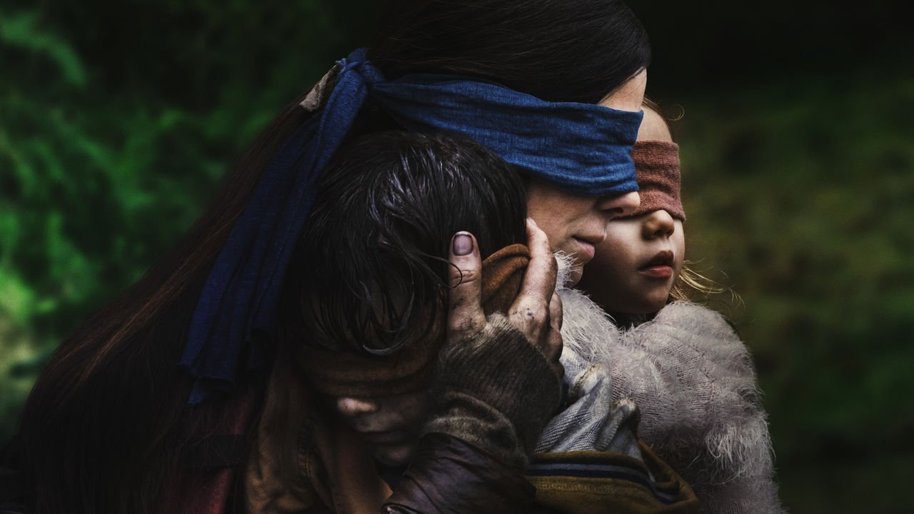 Bird Box Review: Netflix thriller flutters into nonsense