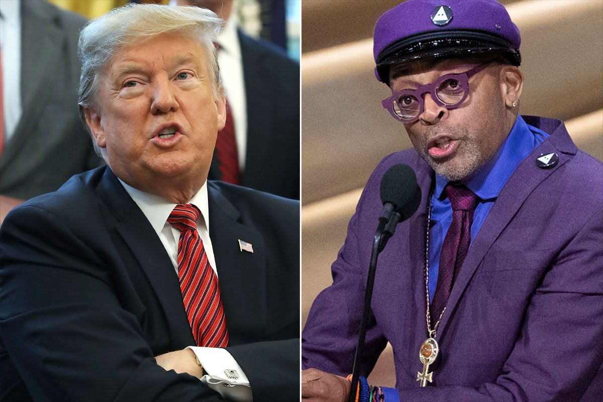 Donald Trump & Spike Lee Spar Over Oscars Speech