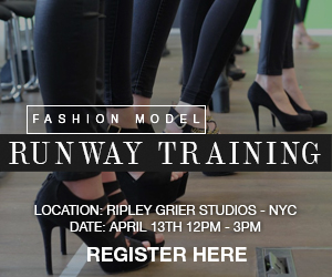 Professional Runway Training Ad