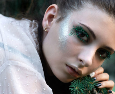 Fashion Editorial: Green Summer Story