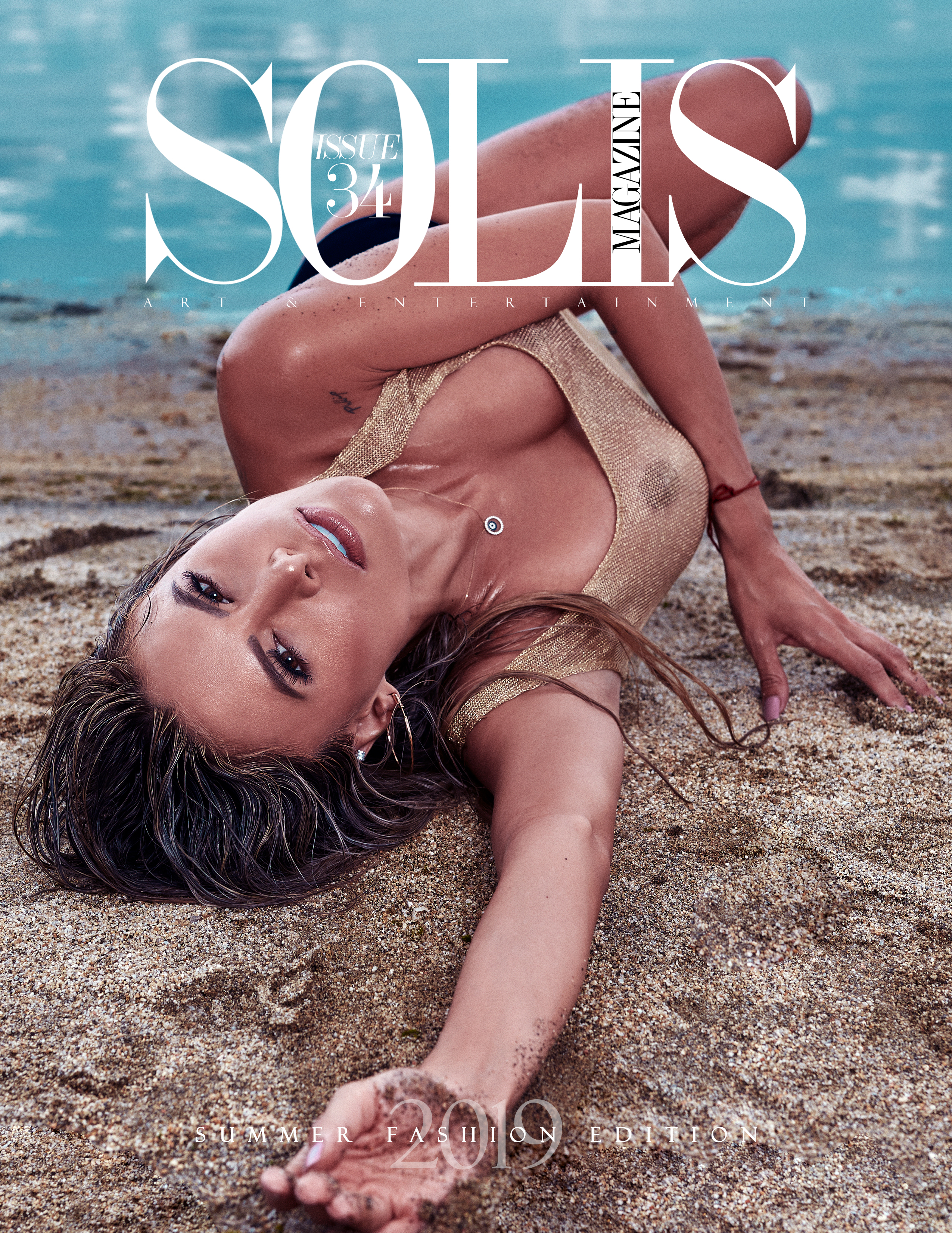 Solis Magazine Issue 34 - Summer Fashion Edition 2019 Cover