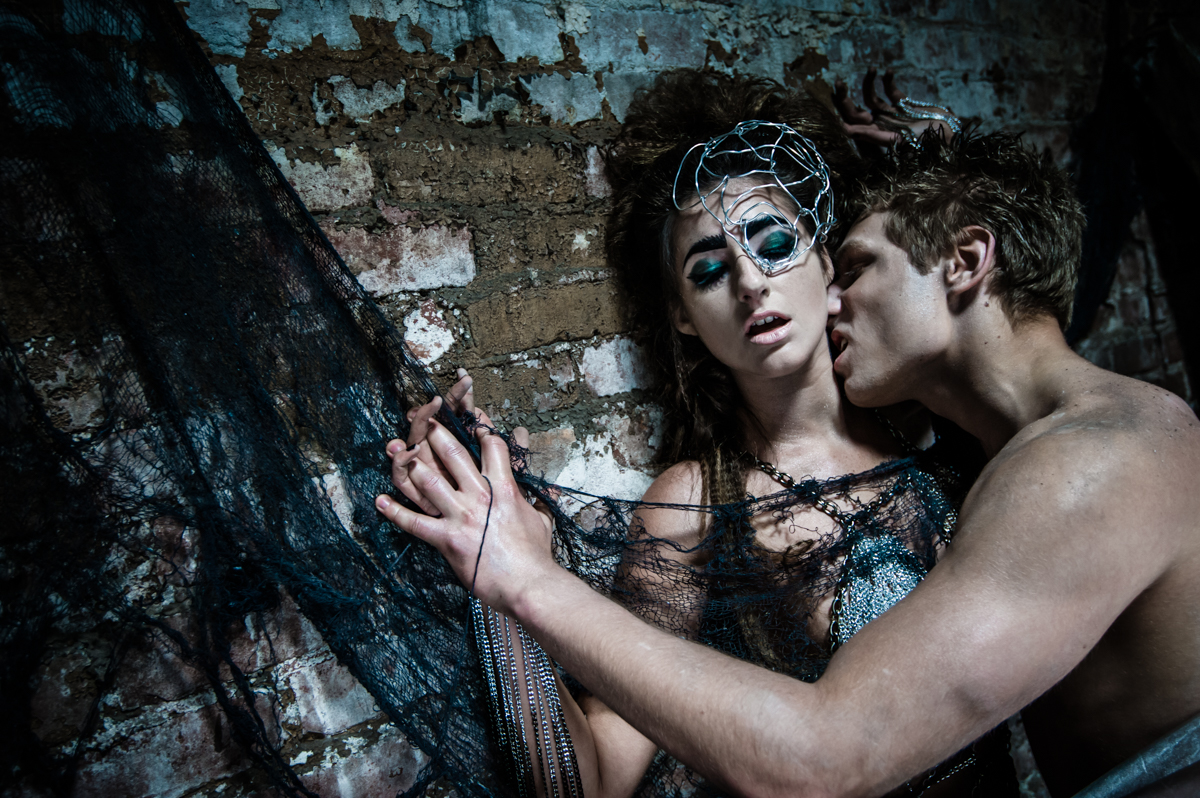 Fashion Editorial: Spider Woman and her Prey