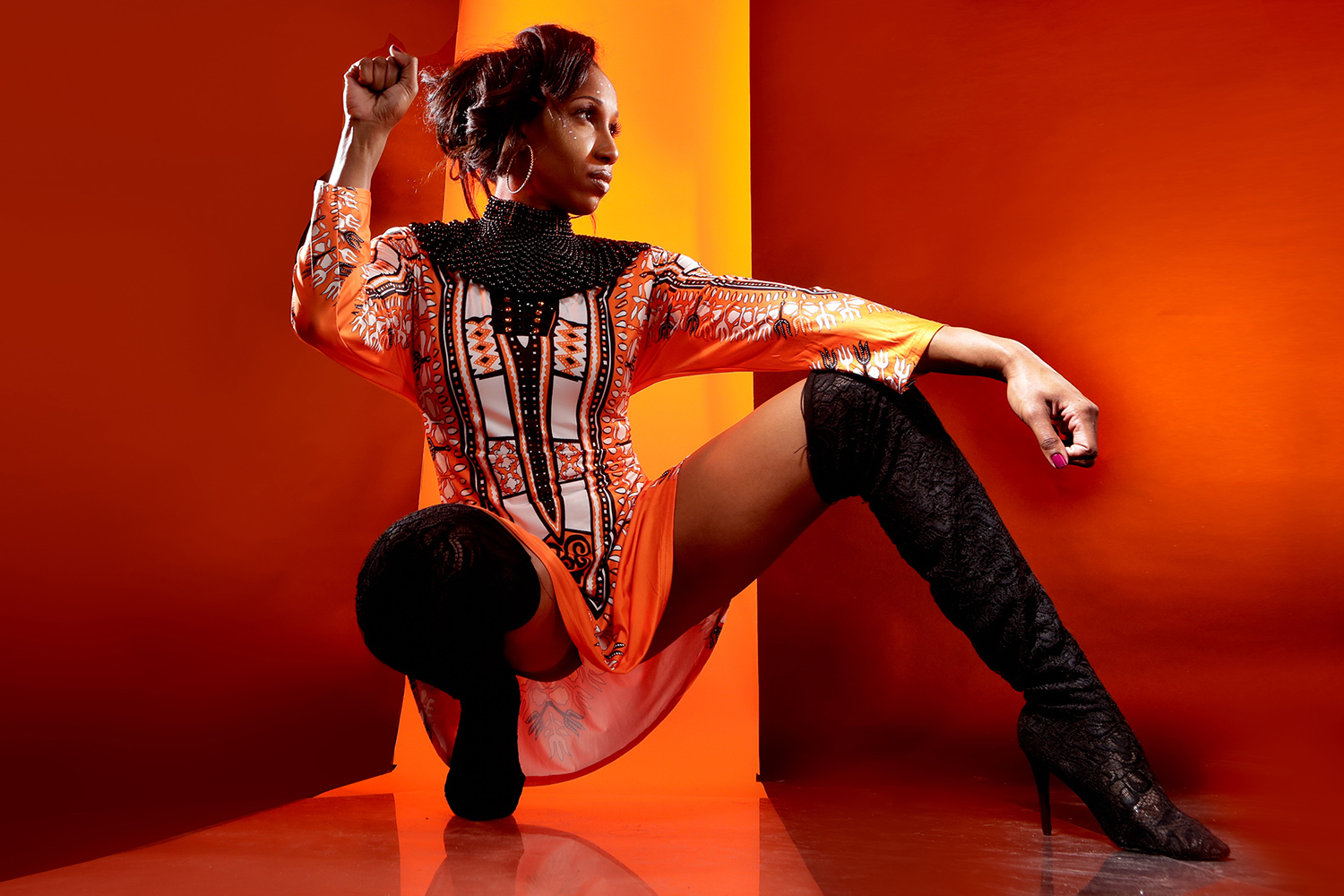 Fashion Model Showcase: Nesha A women with a Dream