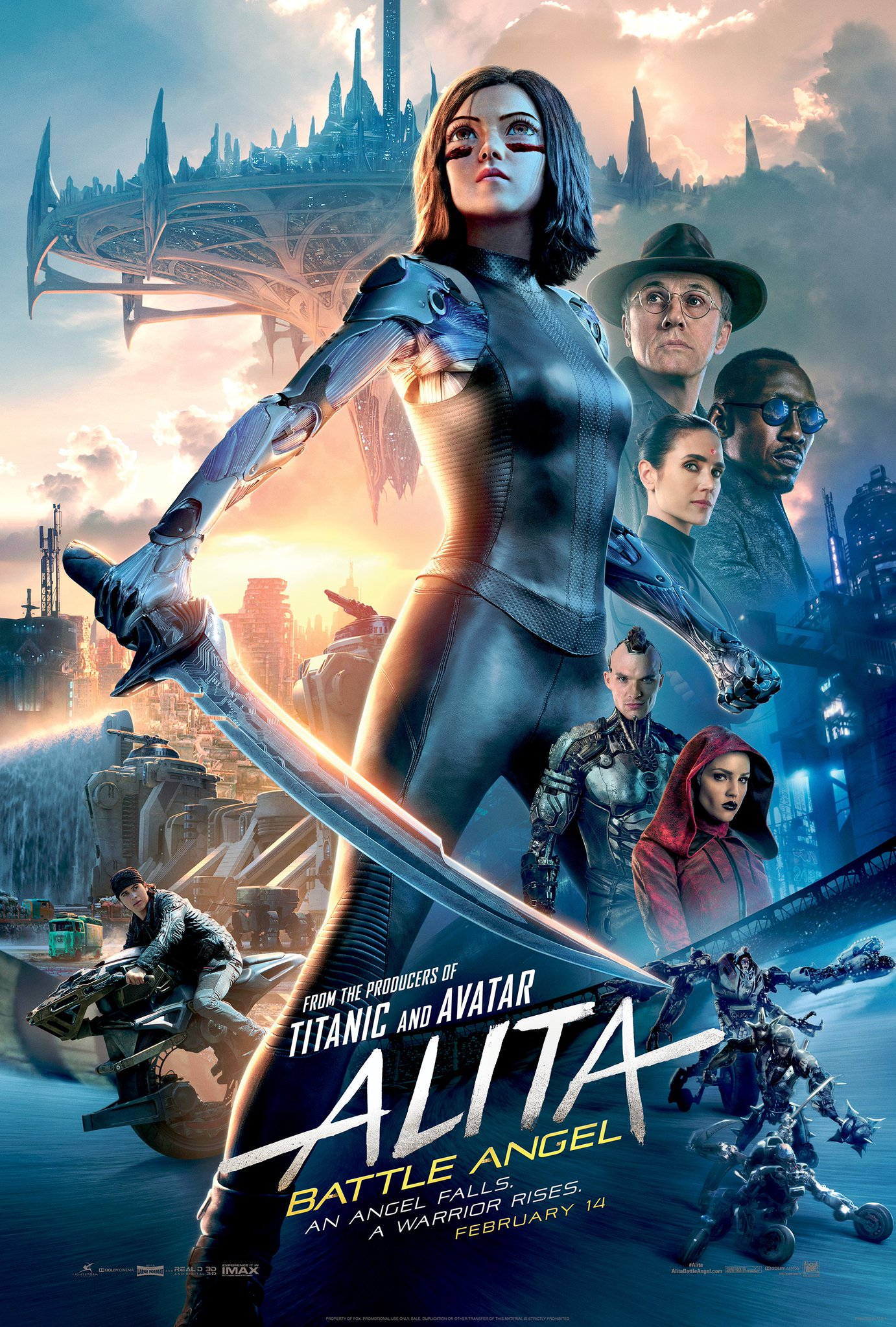 Alita: Battle Angel - Movie Posters