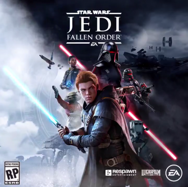 Star Wars Jedi Fallen Order Box Art