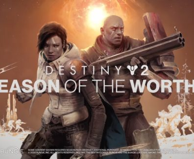Destiny 2: Season of the Worthy