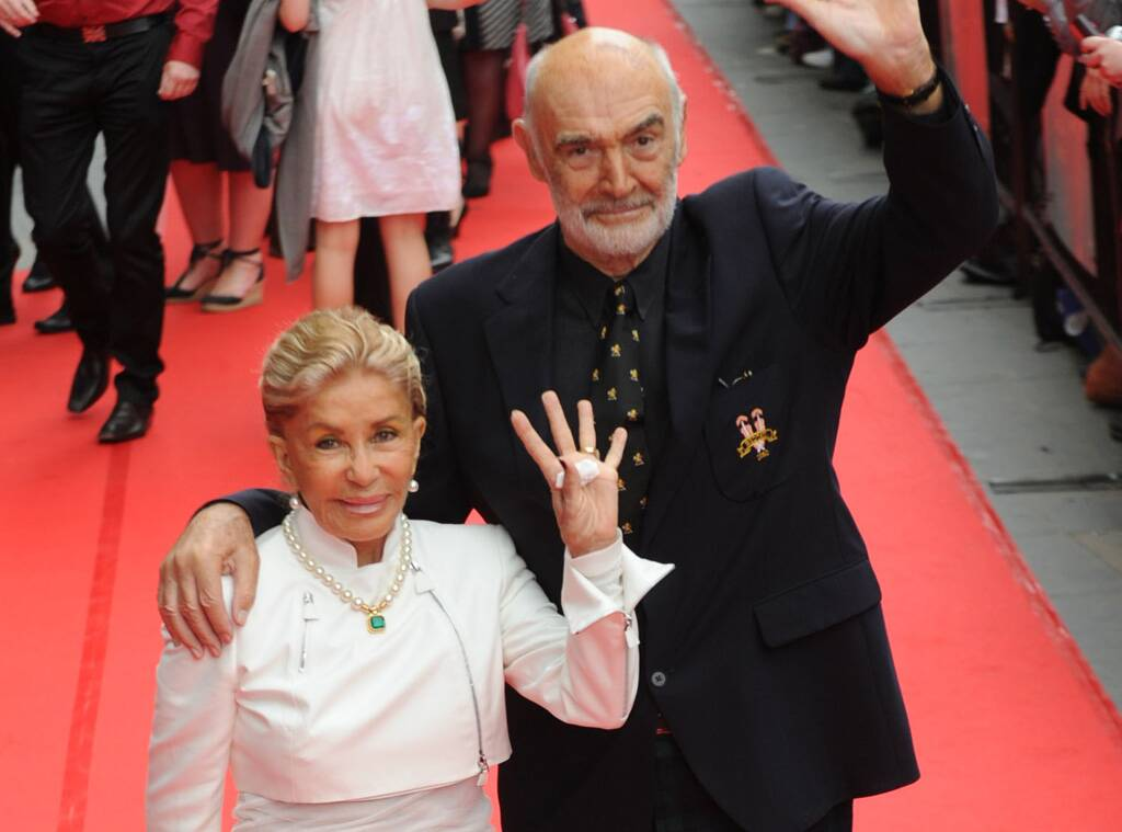 Sean Connery's Wife Reveals the Star Struggled With Dementia Before His Death