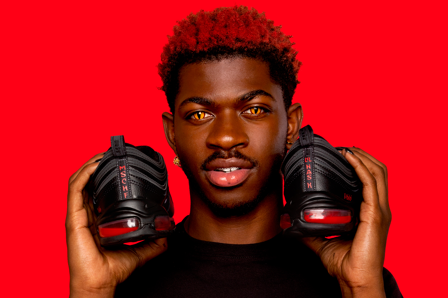 Lil Nas X's unofficial 'Satan' Nikes containing human blood sell out in under a minute